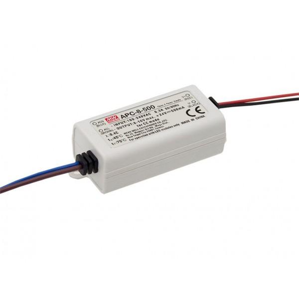 APC-8-250 Mean Well Блок питания Драйвер для светодиодов (LED) 8 Вт; 16~32 В; 0,25 А