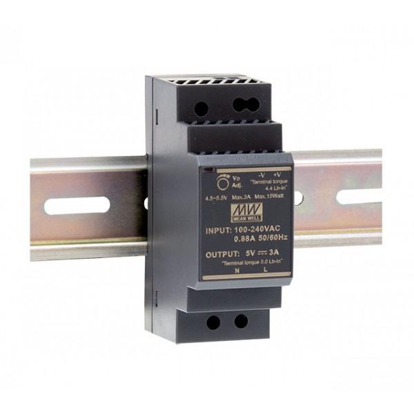 HDR-30-24 Mean Well Блок питания На DIN-рейку 36 Вт; 24 В; 1,5 А