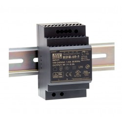 HDR-60-24 Mean Well Блок питания На DIN-рейку 60 Вт; 24 В; 2,5 А