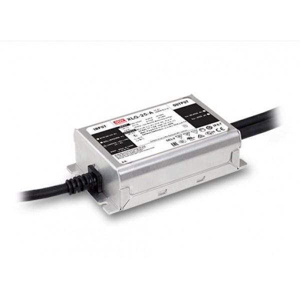 XLG-25-A Mean Well Блок питания (LED драйвер) 25 Вт; 22~54 В; 0.25~1.05 А