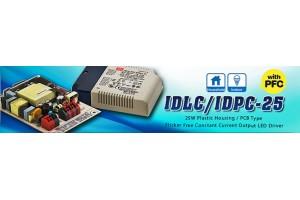 Новые источники питания для светодиодов серии IDLC/ IDPC/ ODLC -45DA