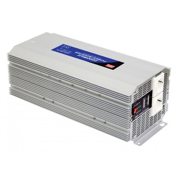 A301-2K5-F3 Mean Well Инвертор 2500 Вт, 230 В (DC/AC Преобразователь)