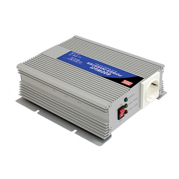 A302-600-F3 Mean Well Инвертор 600 Вт, 230 В (DC/AC Преобразователь)