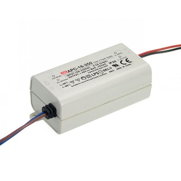 APC-16-700 Mean Well Блок питания 16.8 Вт, 9~24 В, 700 мА Драйвер для светодиодов (LED)