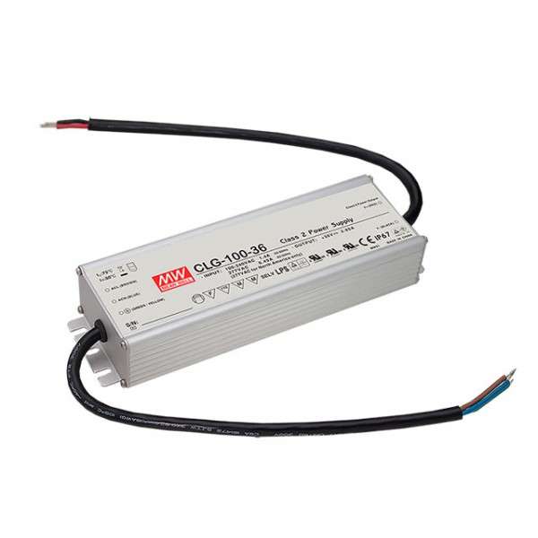CLG-100-27 Mean Well Блок питания 95.85 Вт, 27 В, 3.55 А Драйвер для светодиодов (LED)