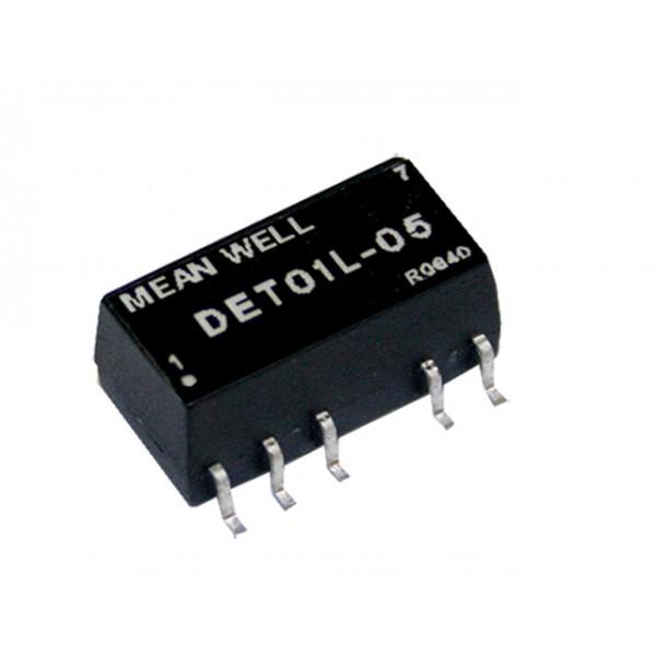 DET01L-15 Mean Well Блок питания 1 Вт, 15 В, 0.033 А На плату