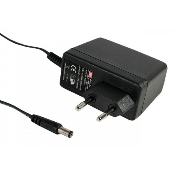 GS15E-8P1J Mean Well Адаптер питания 15 Вт, 48 В, 0,31 А разъем 2.1х5.5 мм