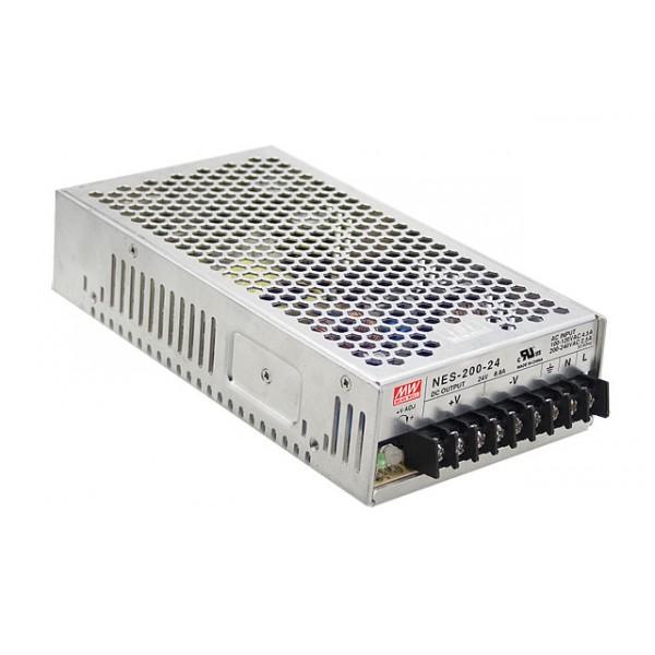 NES-200-24 Mean Well Блок питания 211.2 Вт, 24 В, 8.8 А В корпусе