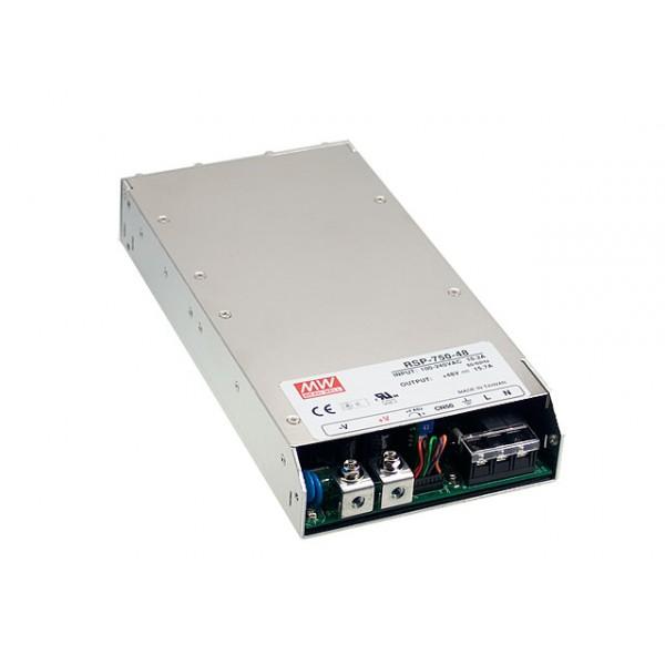 RSP-750-24 Mean Well Блок питания 751.2 Вт, 24 В, 31.3 А В корпусе с ККМ