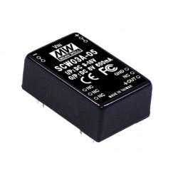 SCW03B-05 Mean Well Блок питания 3 Вт, 5 В, 0.6 А На плату